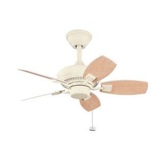 Three-Speed Five-Blade Ceiling Fan in Adobe Cream Finish