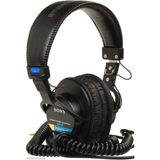 Sony MDR-7506 Circumaural Closed-Back Pro Monitor Headphone