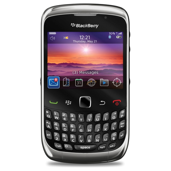 BlackBerry Curve 9300 GSM Unlocked Cell Phone
