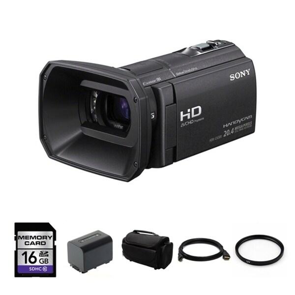 Sony HDR-CX580V Full HD 32GB Flash Memory Camcorder Bundle