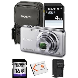 Sony Cyber-shot DSC-WX70 16.2MP Digital Camera Bundle