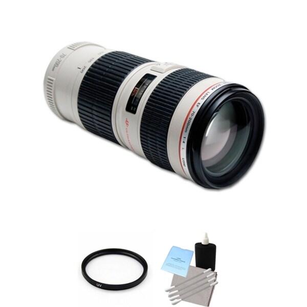 Canon EF 70-200mm f/4L USM Lens Bundle