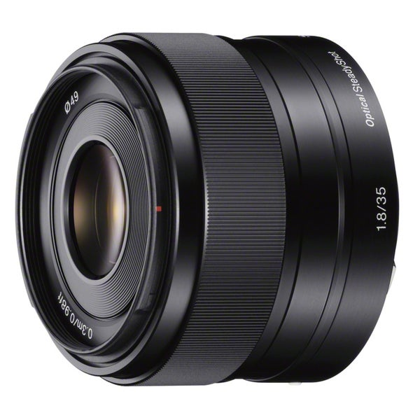 Sony SEL-35F18 35 mm f/1.8 Fixed Focal Length Lens for E-mount