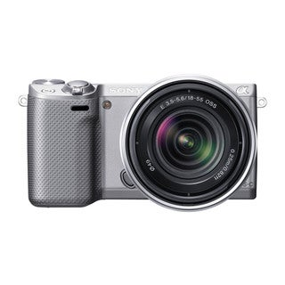 Sony Alpha NEX-5R Mirrorless Digital Camera with 18-55mm E-Mount Lens