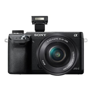 Sony Alpha NEX-6 16.1MP Mirrorless Digital Camera with 16-50mm Lens