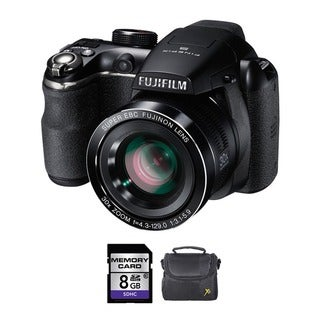 Fujifilm FinePix S4500 14MP Digital Camera Bundle