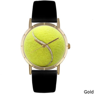 Whimsical Women's 'Tennis Lover' Photo Watch