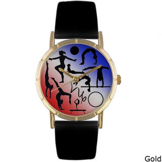 Whimsical Women's 'Gymnastics Lover' Photo Watch