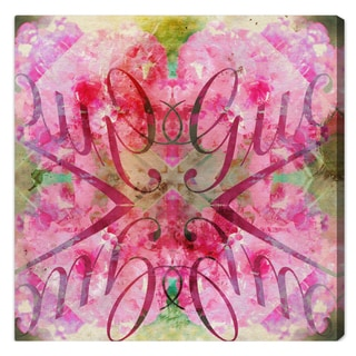 Oliver Gal 'Efflorescent Bomb' Limited Edition Canvas Art Print