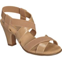 Women's A2 by Aerosoles Kaleidescope Tan Patent