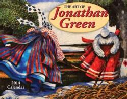 The Art of Jonathan Green 2014 Calendar (Calendar)