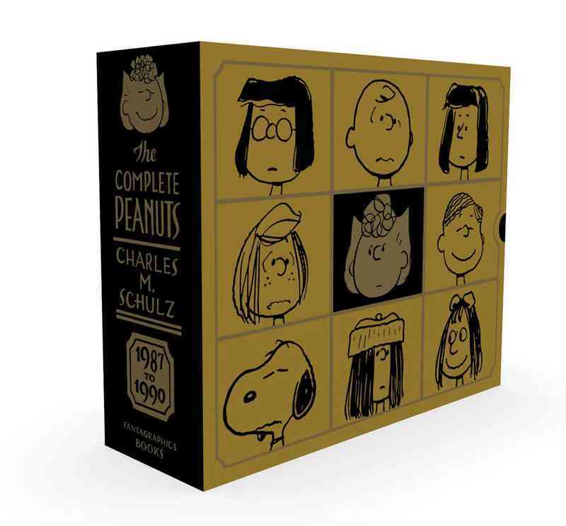 The Complete Peanuts 1987-1990 Gift Box Set (Hardcover)