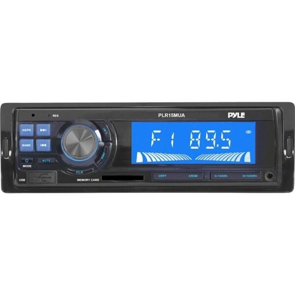 Pyle PLR15MUA Car Flash Audio Player - Single DIN