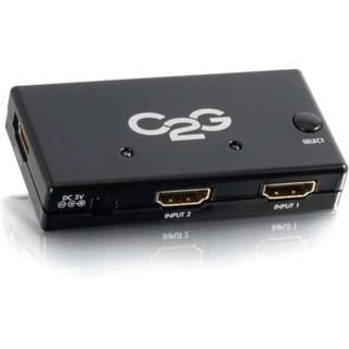 C2G 2-Port HDMI Auto Switch