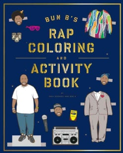 Bun B's Rap Coloring and Activity Book (Paperback)