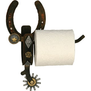 River's Edge Cast Iron Spur Wall Mount Toilet Paper Holder