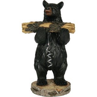 River's Edge Bear Holding Cork Screw