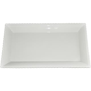 KitchenWorthy Ceramic Serving Platter