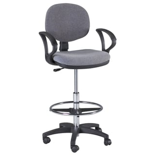 Offex Grey Ergonomic Adjustable Office Chair