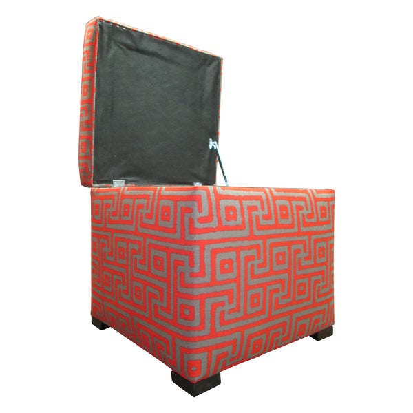 Tami Greece Atomic Storage Ottoman