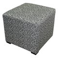 Sole Designs Square 4-button Tufted Ottoman