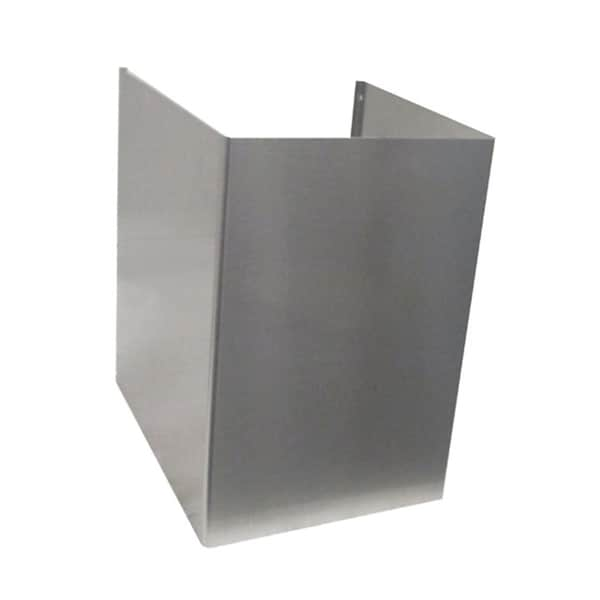NT AIR Stainless Steel Wall Mounted Chimney Extention 10851467