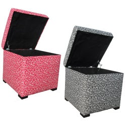 Sole Designs Tami Sprinkles Storage Ottoman