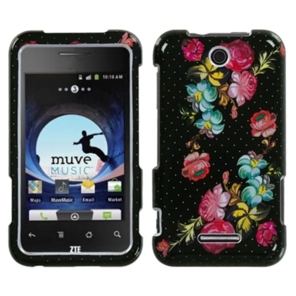INSTEN Blooming Flowers Phone Case Cover for ZTE X500 Score