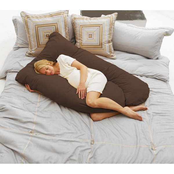Maternity pregnancy pillow comfort body cozy sleep for Comfort pillows for sleep