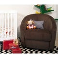 Babyletto Madison Swivel Glider in Mocha