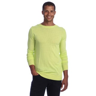 American Apparel Men's Leaf Green Knit Sweater