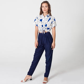 American Apparel Women's Silky Relaxed Pants