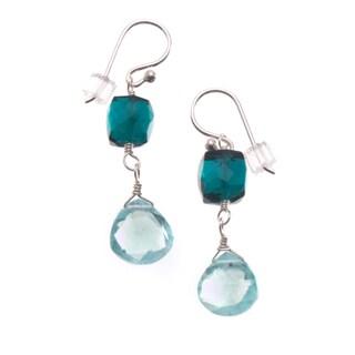 Sterling Silver 'Charmed' Gemstone Earrings