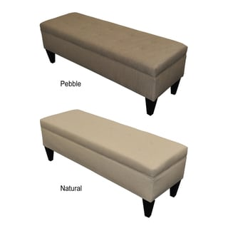Sole Designs Brooke Bonjour 10-button Tufted Storage Bench