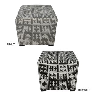 Merton Towers 4-button Tuft Square Ottoman