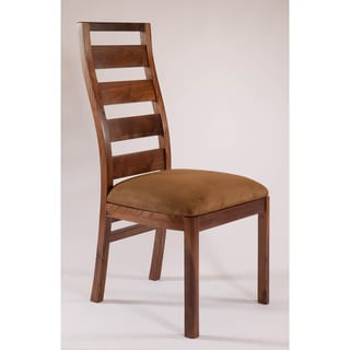 Loft Alder Wood/ Ultra Suede Dining Side Chair