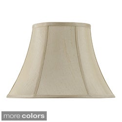 Cal Lighting 12-Inch Verticle Piped Basic Bell Shade