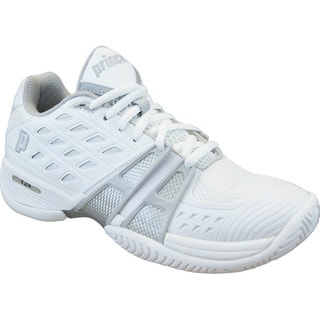 Women's Prince T24 White Tennis Shoes