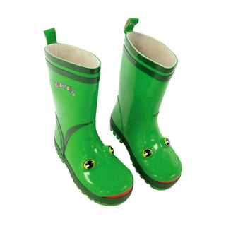 Kidorable Children's Green Frog Rainboots