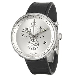 Calvin Klein Men's 'Substantial' Stainless Steel Swiss Quartz Watch