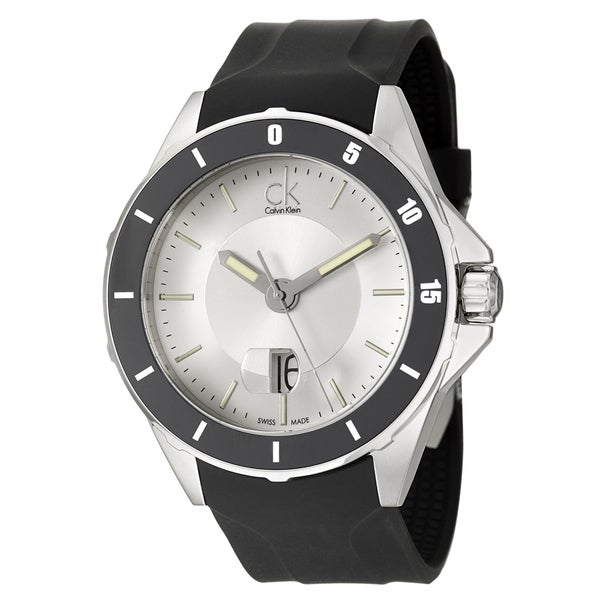 Calvin Klein Men's 'Play' Stainless Steel Swiss Quartz Watch