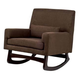Sleepytime Rocker in Mocha with Dark Legs