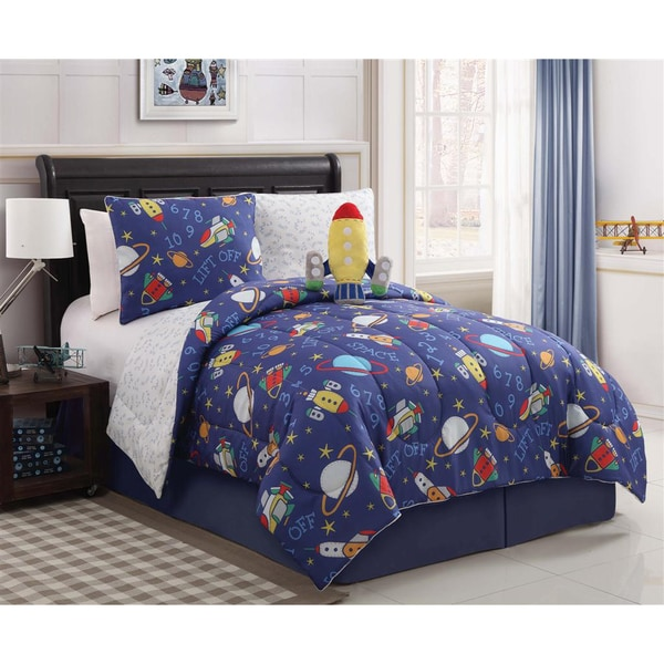 VCNY Out of This World Reversible 3-piece Comforter Set