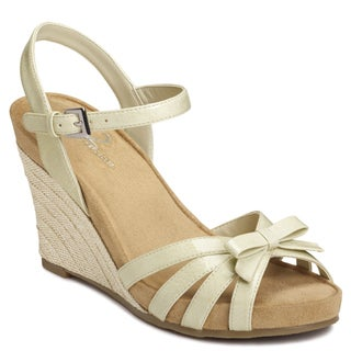 A2 by Aerosoles Women's Bone 'Ivyplush' Sandals