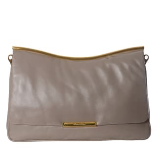 Miu Miu Nappa Leather Dual Entry Shoulder Bag