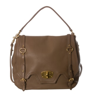 Miu Miu 'Cervo' Grainy Leather Satchel