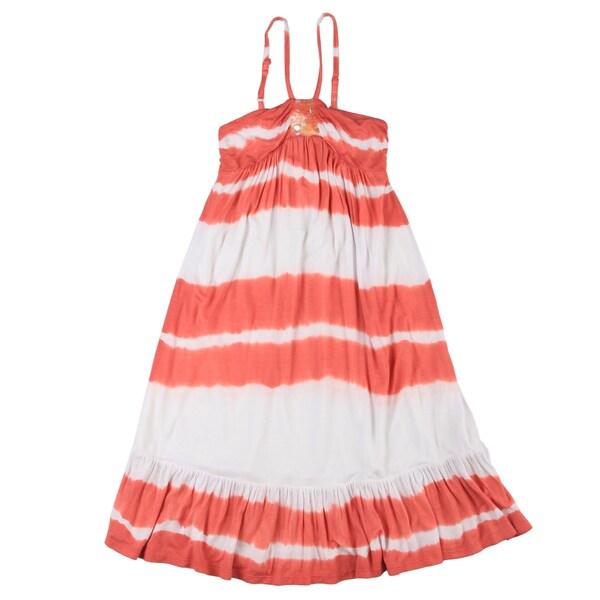 Paulinie Collection Girls' Tie- Dye Summer Dress
