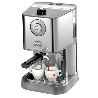 Gaggia 12300 Brushed Stainless Steel Baby Class Manual Espresso Machine
