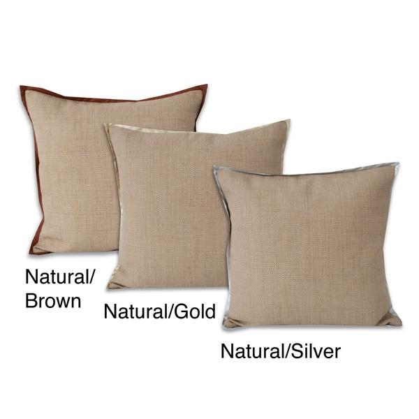 Dakota 22 x 22-inch Decorative Throw Pillow