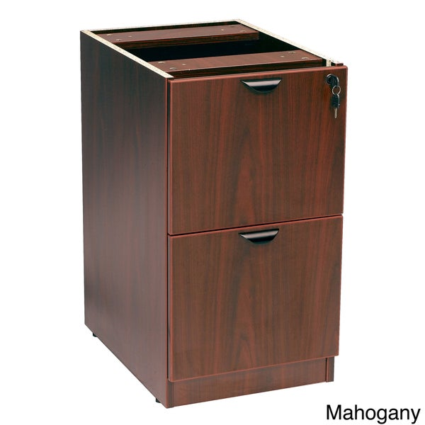 Boss Full Pedestal Two-drawer File